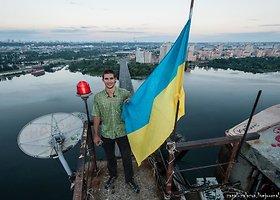 Juozapo kopimas į Maskvos tiltą Kijeve