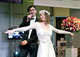 """Paroda """"Mūsų vestuvės"""" į Vilnių sukvietė būsimus jaunavedžius ir vedybų  planuotojus"""