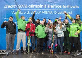 Olimpinis žiemos festivalis Druskininkuose