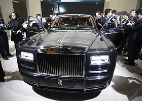 "Lamaro Odomo automobilis – ""Rolls Royce Phantom"""