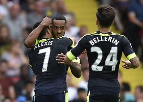 """Londono """"Arsenal"""" pasiekė pirmąją sezono pergalę"""