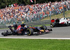 """""""Formulės-1"""" pasaulio čempionato Belgijos GP lenktynės"""