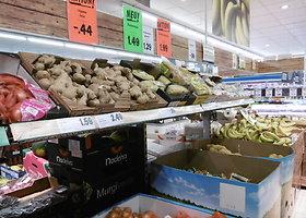 Maisto prekių kainos parduotuvėse Vokietijoje