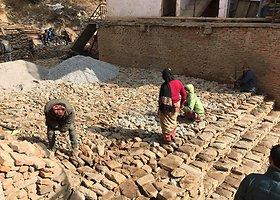 Nepalas po žemės drebėjimo