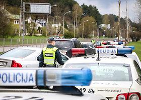 Sostinės policija metė didžiules pajėgas užtikrinti saugumą miesto gatvėse