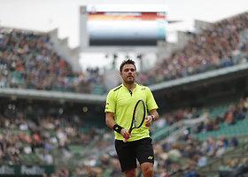 "Ketvirtasis ""Roland Garros"" etapas: Stanas Wawrinka – Viktoras Troickis"