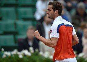 """Ketvirtasis """"Roland Garros"""" etapas: Milošas Raoničius – Alberto Ramosas"""