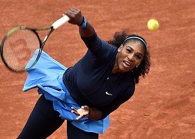 "Pirmasis ""Roland Garros"" etapas: Serena Williams – Magdalena Rybarikova"