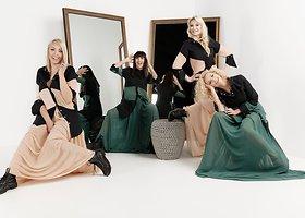 """Grupės """"Pop Ladies"""" įvaizdžiai pagal Dianą Vapsvę"""