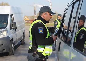 Vairuotojų blaivumo patikrinimas Panevėžyje
