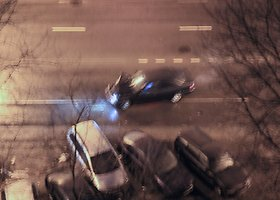 Avarijoje apgadinti 4 automobiliai, kaltininkas pasišalino iš įvykio vietos