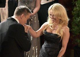 Pamela Anderson ir Brooke Shields ir Vienos pokylyje Austrijoje