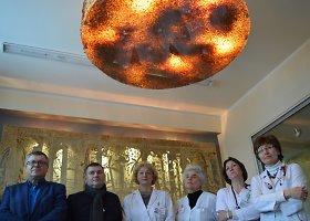 Kauno klinikinėje ligoninėje atidarytas Gintaro kambarys
