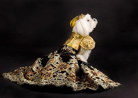 Dizainierio Anthony Rubioso kurta šunų rūbų kolekcija