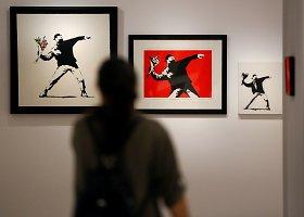 Banksy darbų paroda Italijoje