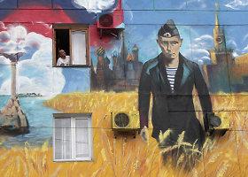 Rusijos okupuotas Krymas: merdintis ir izoliuotas nuo pasaulio