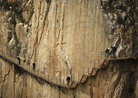 Ispanijoje atnaujintas El Caminito del Rey takas vėl laukia drąsuolių