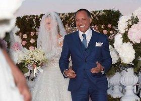"""Playboy"" modelio Xenios Deli ir Ossamo Fathi Rabah Al-Sharifo vestuvės"