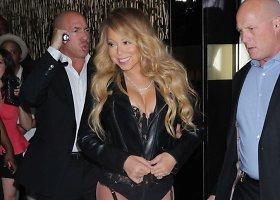 Vulgarus Mariah Carey įvaizdis vakarėlyje