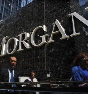 """Didžiausias Jungtinės Karalystės bankas """"J.P. Morgan Chase & Co."""" atleis per 5 tūkst. darbuotojų"""