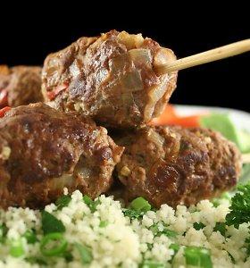 Vakarienei – mėsos, žuvies arba daržovių maltinukai