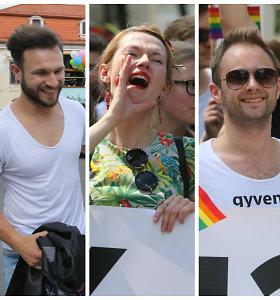 """""""Baltic pride"""" eitynėms """"Už lygybę!"""" – ir žinomų žmonių palaikymas"""