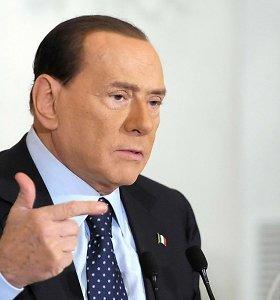 Buvęs Italijos lyderis Silvio Berlusconi patyrė infarktą