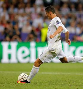 """Lemiamą baudinį įmušęs Cristiano Ronaldo: """"Nugalėjo mūsų patirtis"""""""