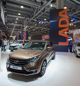 Šių metų Maskvos automobilių paroda – pustuštė
