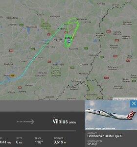 Vilniaus oro uoste avariniu būdu leidosi keleivinis lėktuvas su daugiau nei 70 žmonių
