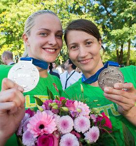 Linai Batulevičiūtei ir Ievai Serapinaitei – pasaulio šiuolaikinės penkiakovės čempionato sidabras