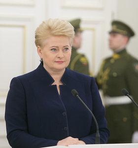 Teismas atmetė prokuroro prašymą apklausti Dalią Grybauskaitę