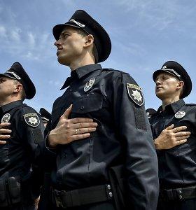 Naujosios Ukrainos policijos pajėgos susidūrė su senų įpročių virusu