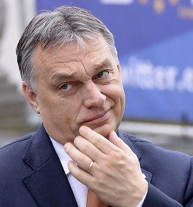 Vengrijos premjero desperacija: pradeda kryžiaus žygius prieš imigrantus, kurių šalis neturi
