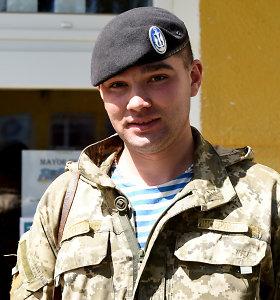Ukrainos Nepriklausomybės dienos proga: vieno jūrų pėstininko istorija