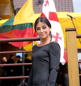 Gruzijos Nepriklausomybės šventės Pipiriškėse nepraleido ir dainininkė Šorena