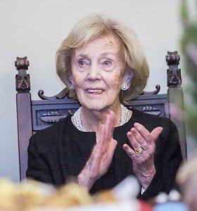 Alma Adamkienė gydoma Santariškių klinikose