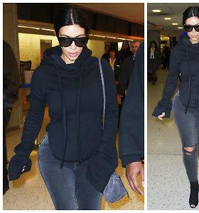 Prabangi kasdienybė: net ir paprasčiausias Kim Kardashian derinukas vertas 2,5 tūkst. eurų