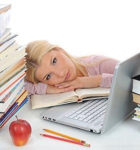 Kad egzaminai nekeltų streso: sureguliuokite mitybą