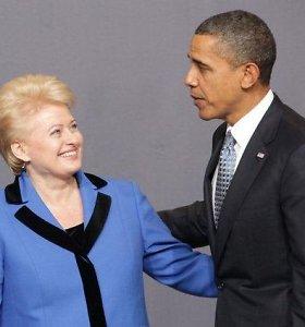 Sveikindami JAV su Nepriklausomybės diena Lietuvos vadovai pabrėžė partnerystę