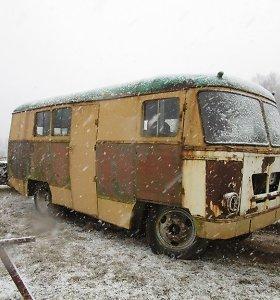 Surastas unikalus, istorinis, Kaune gamintas autobusas – KAG
