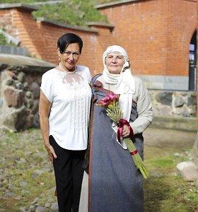 Klaipėda pagerbė Skaistutę Idzelevičienę ir Ireną Nakienę: įteikti žiedai su deimantais