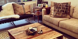 Kaip paletes paversti naudingais baldais?