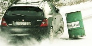 Vairavimas žiemą - ką reikėtų pamiršti?