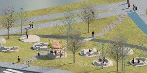 """Dovana Vilniui: """"Barclays"""" įrengs naują viešą erdvę Upės gatvėje"""