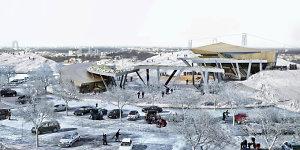 Ant Vilniaus Liepkalnio – įspūdingas sporto ir sveikatingumo centras už 2-2,5 mln. eurų