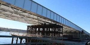 Pėstieji per Vėlines galės naudotis laikinuoju Panemunės tiltu
