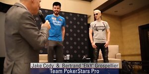 """Video: """"PokerStars Pro"""" komandos žvaigždžių patarimai kaip iš interneto pereiti į gyvą pokerį"""