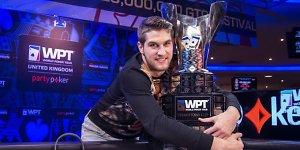 Istorinė pergalė: Matas Cimbolas iškovojo WPT čempiono titulą ir daugiau kaip 800 tūkst. litų