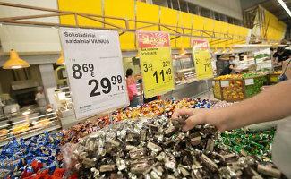 Nuo penktadienio visos kainos tik litais ir eurais